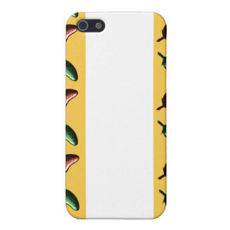 Chili peppers stripe case for iPhone 5