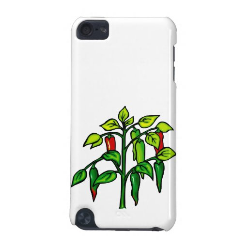 Chili Plant Many Peppers Graphic iPod Touch (5th Generation) Cover