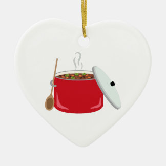 Chili Pot Christmas Ornament