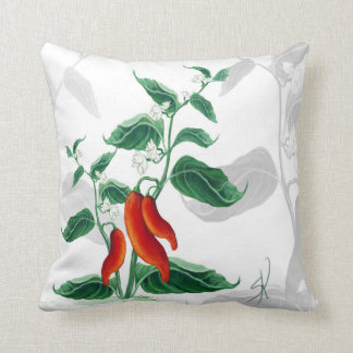 Chili Throw Pillow