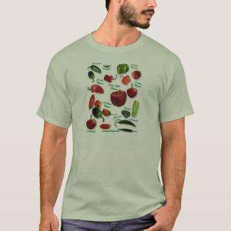 Chili Varieties T-Shirt