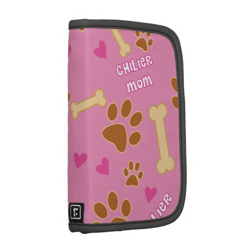 Chilier Dog Breed Mom Gift Idea Folio Planners