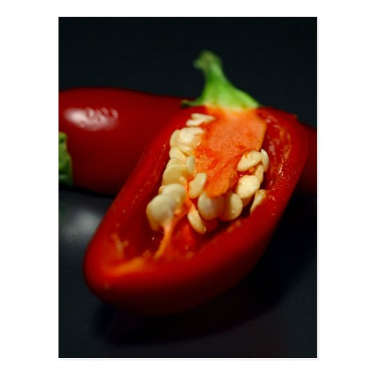 chilies-seeds,still-life postcard