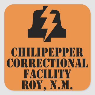 Chilipepper Correctional Facility Sticker