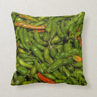 Chilis For Sale At Market Cushion