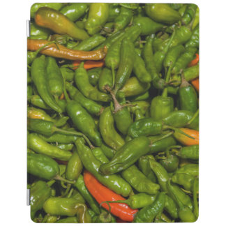Chilis For Sale At Market iPad Cover