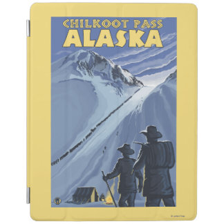 Chilkoot Pass, Alaska Gold Miners iPad Cover