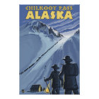 Chilkoot Pass, Alaska Gold Miners Poster