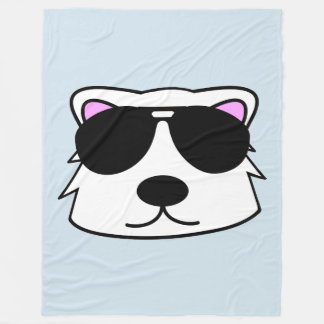 Chill Bear Fleece Blanket
