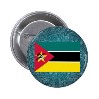 Chill Flag of Mozambique 6 Cm Round Badge