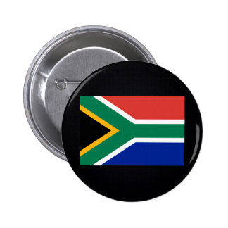 Chill Flag of South Africa 6 Cm Round Badge