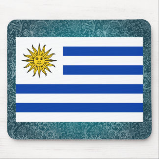 Chill Flag of Uruguay Mouse Pad
