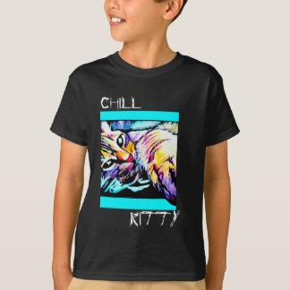 chill kitty purple T-Shirt
