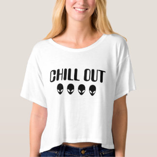 Chill Out Aliens T-Shirt