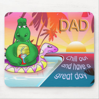 chill out dad mouse mat