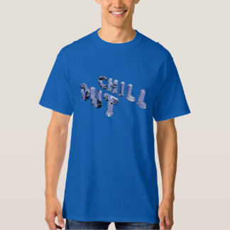 Chill Out Ice Sculpture (right side) T-Shirt