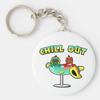 Chill Out Key Ring