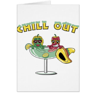 Chill Out Margarita Card