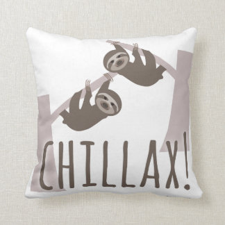 Chill Out Sloth Cushion