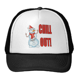 Chill Out Snowman Hat