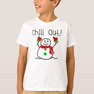 Chill Out Snowman T-Shirt
