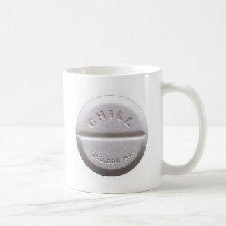 Chill Pill Basic White Mug