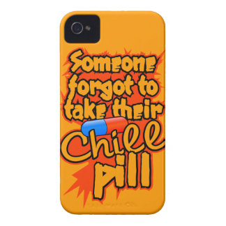 Chill Pill custom Blackberry Bold case