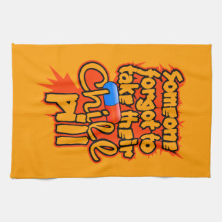 Chill Pill kitchen towel