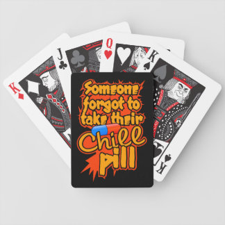Chill Pill playing cards