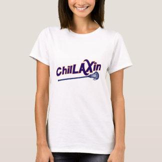 Chillaxin Lacrosse LAX Gifts T-Shirt