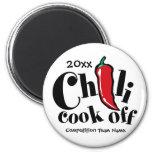 Chilli Cook Off 6 Cm Round Magnet