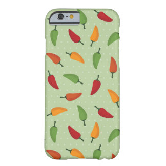 Chilli pepper pattern barely there iPhone 6 case