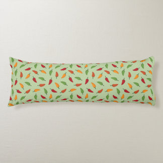 Chilli pepper pattern body cushion