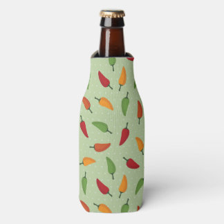Chilli pepper pattern bottle cooler