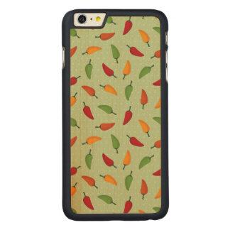 Chilli pepper pattern iPhone 6 plus case
