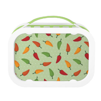Chilli pepper pattern lunch box