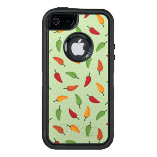 Chilli pepper pattern OtterBox iPhone 5/5s/SE case