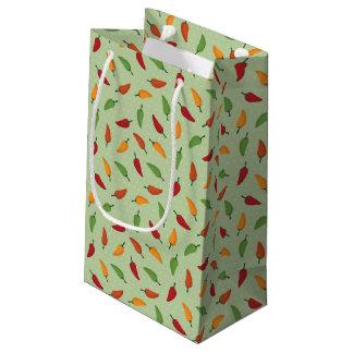 Chilli pepper pattern small gift bag