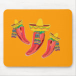 Chilli Peppers Mouse Pad