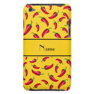 chilli+peppers,personalized+name,red+chili+pepper, Case-Mate iPod touch case