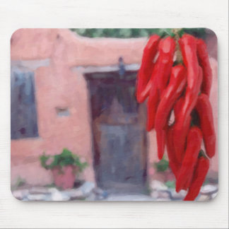 Chilli Peppers Ristra Mouse Pad