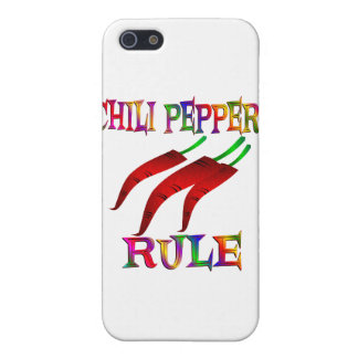 Chilli Peppers Rule iPhone 5/5S Covers