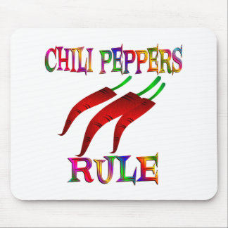 Chilli Peppers Rule Mouse Pad