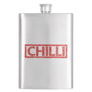 Chilli Stamp Hip Flask