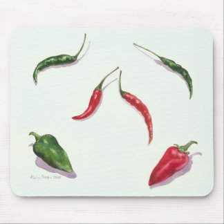 Chillies and Peppers 2005 Mouse Pad