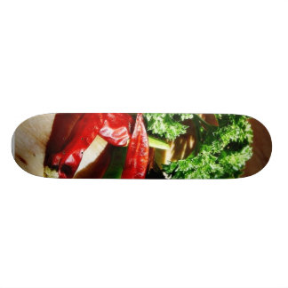 Chillies Chili Peppers Garlic Parsley Skate Deck