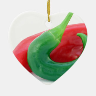 Chillies Christmas Ornament