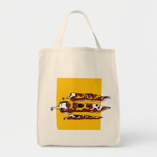 Chillies Grocery Tote Bag