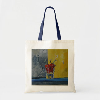Chillies in a Glass Tote Bag