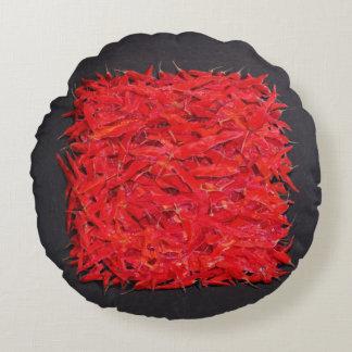 Chillies Round Cushion